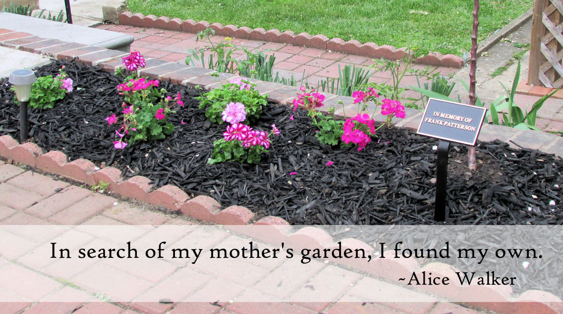 in search of our mothers gardens Telling a critical story: alice walker's in search of our mothers' gardens  author(s): laurie mcmillan source: journal of modern literature, vol 28, no.
